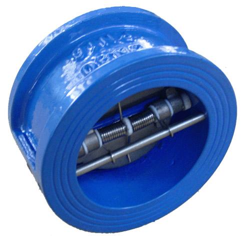 клапан обратный межфланцевый broen v275