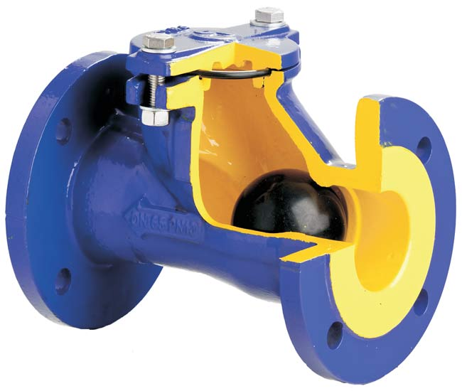 Обратный шаровой клапан
